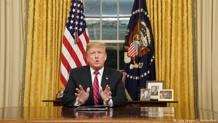 President Trump's Oval Office Border Wall Speech