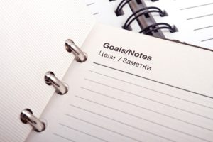 Goal Sheet - Speak Website