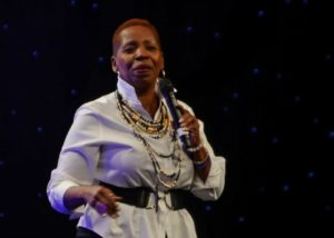 Iyanla Vanzant Speaking to an Audience
