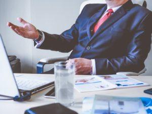 Business Man - Speak Website
