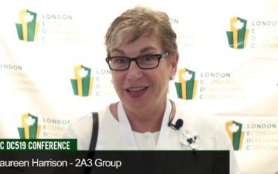 Maureen Harrison of 2AE Group at LEDC Digital Creative 519