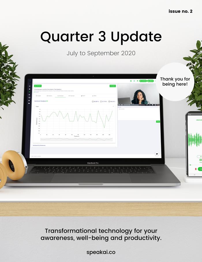 Quarter 3 Update