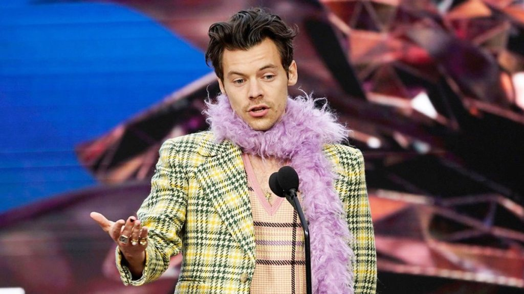 Harry Styles Grammy Speech