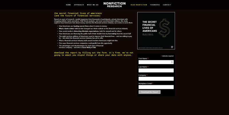NonFiction Research Website