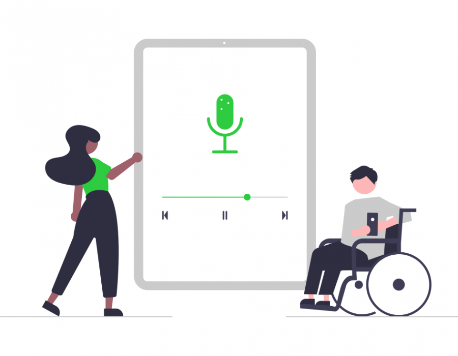 Transcription for podcast, video and audio accessibility and sharing - Speak Ai